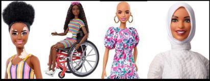 Vitiligo Barbie!